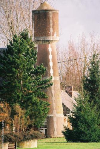 14 Biéville-en-Auge  Commune de Belle-Vie-en-Auge  D613 Château de Rupiere