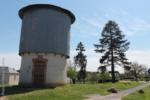 18 Lunery ancien château d'eau de gare place Léon dupuis