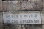 19 Brives-La-Gaillarde Gare Parking Effia depuis la rue Dumyrat Plaque