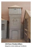 75 Paris 104 rue Curial maquette