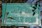 77 Aubepierre-Ozouer-le-Repos Rue du château d'eau plaque