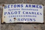 77 Augers-en-Brie D 71 Route de Provins Plaque