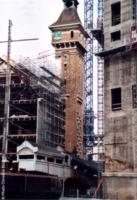 93 Pantin en travaux depuis le quai de l'Ourcq